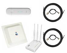 3G/4G Wi-Fi LTE роутер ZTE MF79+Антенний комплект MIMO Антена 15 Дбі + маршрутизатор Netis MW5230
