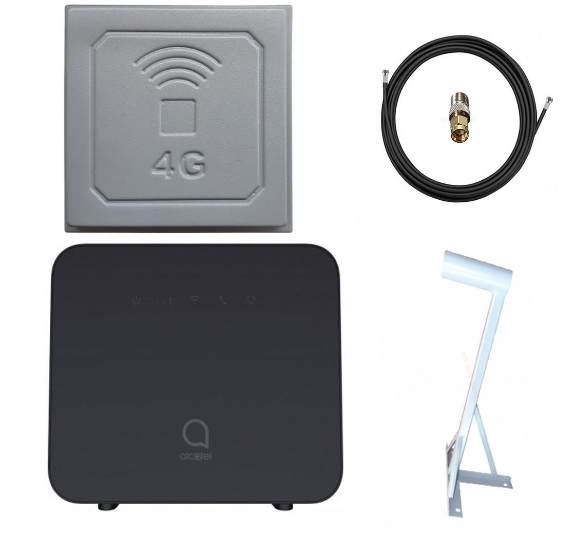 Alcatel Linkhub Home Station HH42CV + Антенний комплект 3G/4G RNet 17 Дбі