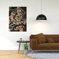 """Плакат-постер с принтом """"Attack on Titan - Вторжение титанов (японская постапокалиптическая манга) 6"""""""