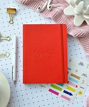 Планер блокнот Мій хеппібук Міні Червоний
