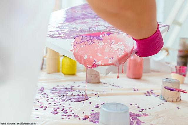 КЕ«Hobby-711» - эпоксидная смола для рисования картин