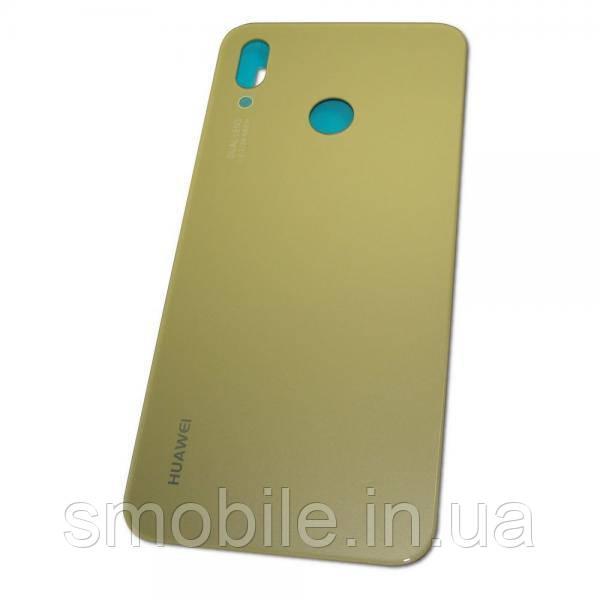 Huawei Скло задньої кришки Huawei P20 Lite золотисте (оригінал Китай)