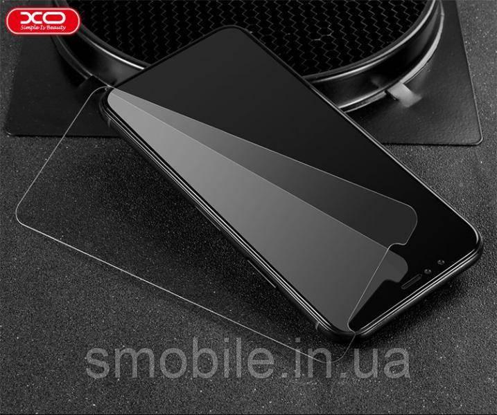 XO Захисне і загартоване скло XO HC1 для iPhone X / XS повністю прозоре 0.26 мм 2.5 D