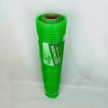 Сетка для защиты деревьев и плодовых кустов от птиц высота 1.5 м х 100 м ячейка 12х14 мм, фото 2