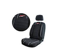 Чохли на сидіння авто універсальні MILEX Bravo чорні (повний комплект)