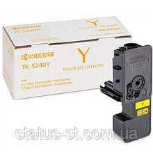 Заправка картриджа Kyocera TK-5240Y yellow для Kyocera ECOSYS M5526cdn, Kyocera Ecosys P5026cdn
