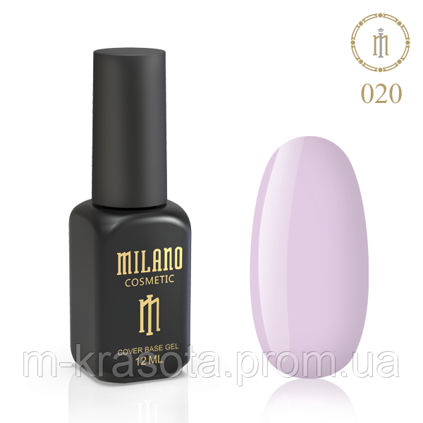 Кольорова База Milano 12 Мл № 20