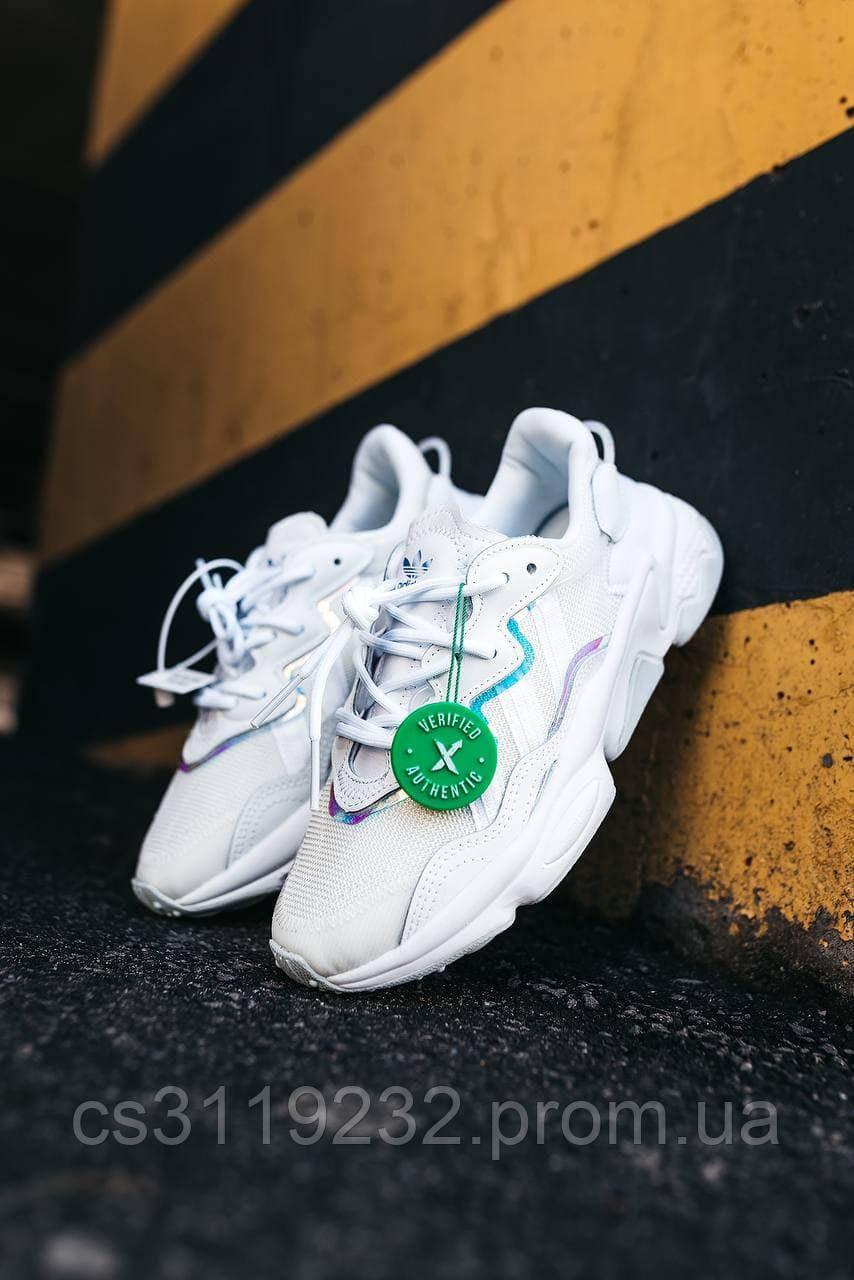Женские кроссовки Adidas Ozweego White (белый)