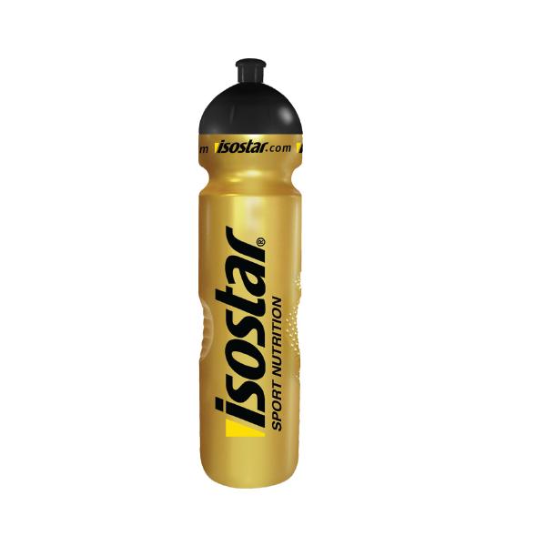 Бутылка Isostar 1000ml золотая