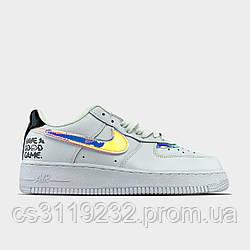 Жіночі кросівки Nike Air Force 1 low Have a Good Game (білі)