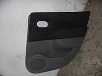 Оббивка двери зад. прав. (Хечбек) Renault Scenic II 03-06 (Рено Сценик 2), 8200235837