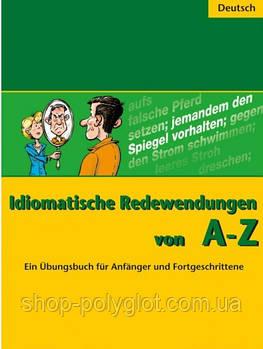 Книга Idiomatische Redewendungen von A - Z