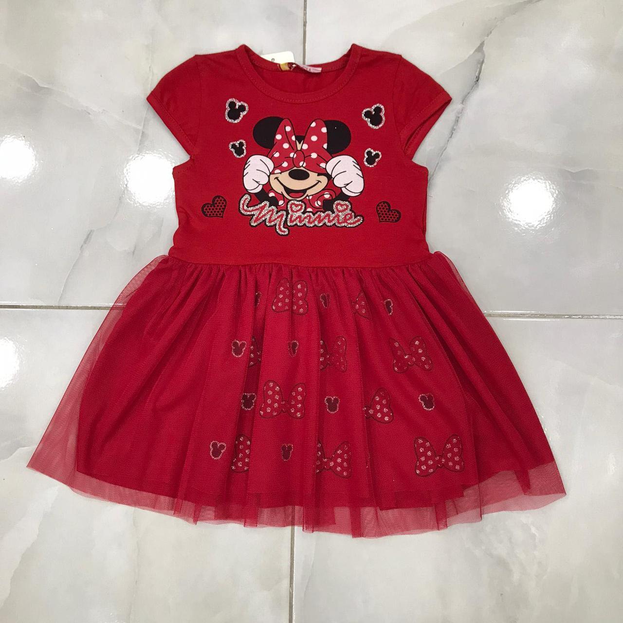 Детское платье 2-6 лет на девочек Турция оптом