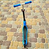Самокат детский двухколесный детский самокат беговел SPORT KIDS 2595 Синий, фото 2