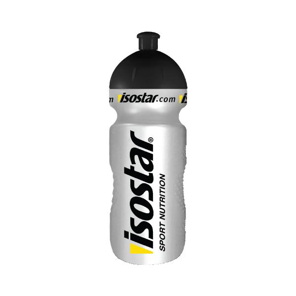 Бутылка Isostar 650ml серебренная