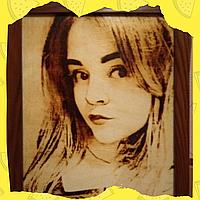 Подарок подруге на день рождения (Выжженный оригинальный портрет по вашему фото)