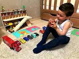Деревянные гаражи и парковки