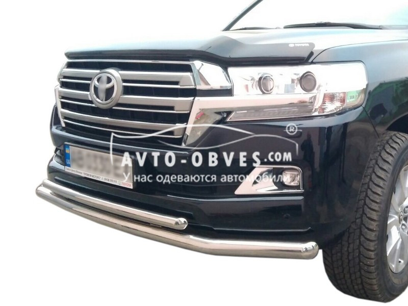 Захисна дуга подвійна Toyota LC200 2016-...