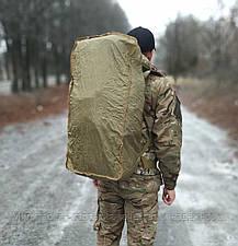 Тактичний (туристичний) рюкзак на 65 літрів Coyote (ta65-new-coyote), фото 3
