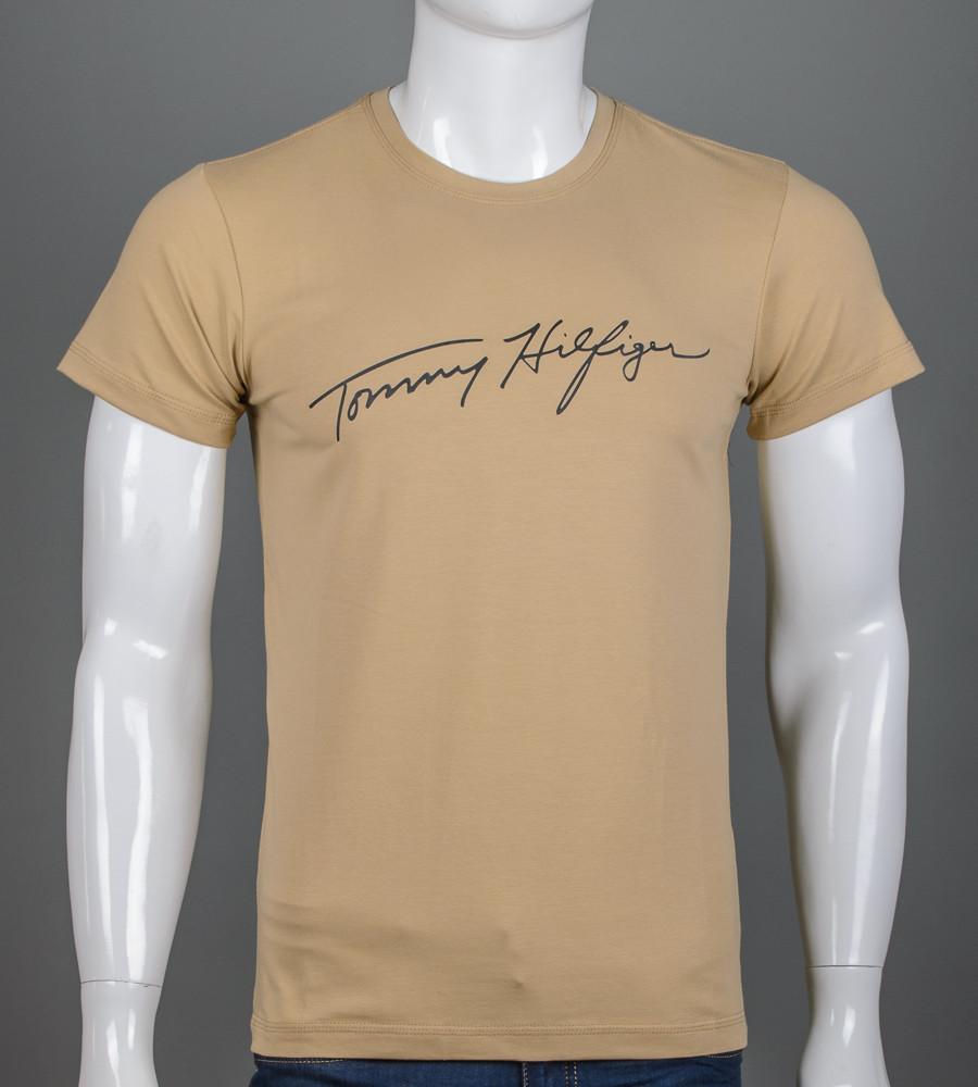 Футболка чоловіча Tommy Hilfiger (2156м), Пісочний