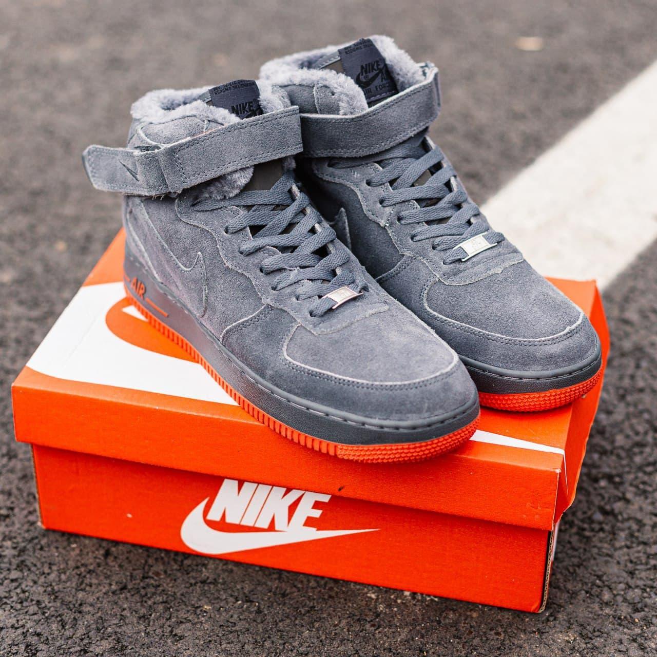Кросівки жіночі зимові Nike Air Force 1 High