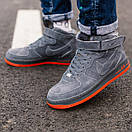 Кросівки жіночі зимові Nike Air Force 1 High, фото 4