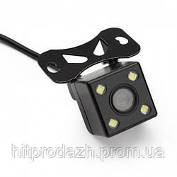 Камера заднего вида с LED подсветкой для автомобиля UKC CAR CAM 707 Led