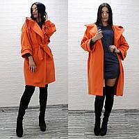 Кашемірове пальто жіноче демісезонне