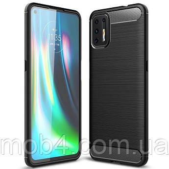 Протиударний чохол Urban (Урбан) для Motorola Moto G9 plus (чорний)
