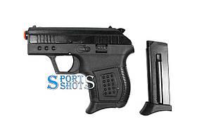 Стартовый пистолет SUR 2004 black с доп. магазином