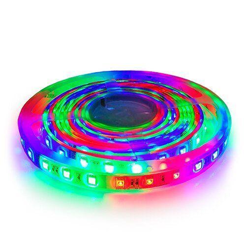 Світлодіодна стрічка OEM ST-12-5050-60-FRGB-20 WS2811, негерметичная, 1м