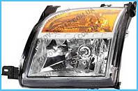 Фара передняя для Ford Fusion '06-12 правая (DEPO) под электрокорректор
