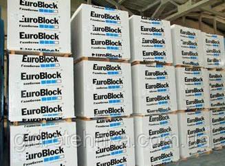 Газоблок стіновий з пористого бетону Euro Blok, м3 D500 600x300x200, D600 600х300х100 100