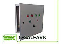 C-SAU-AVK-EN Система управления канальной завесой с электрическим нагревателем