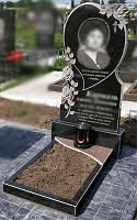 Памятник с сердцем для женщины 1