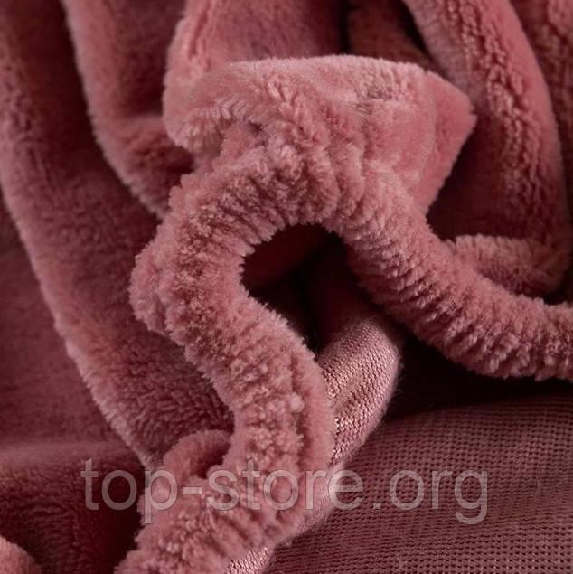 Велюровая простынь на резинке двуспальный размер 180*200+25см Натяжная простынь на матрас или диван