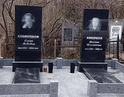 Два памятника родственников 1
