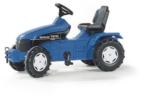 Трактор Педальный New Holland Rolly Toys 036219