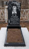 Памятник одинарный с крестом 1
