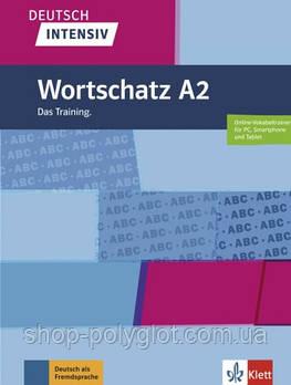 Книга Wortschatz Deutsch intensiv A2 Das Training buch + online