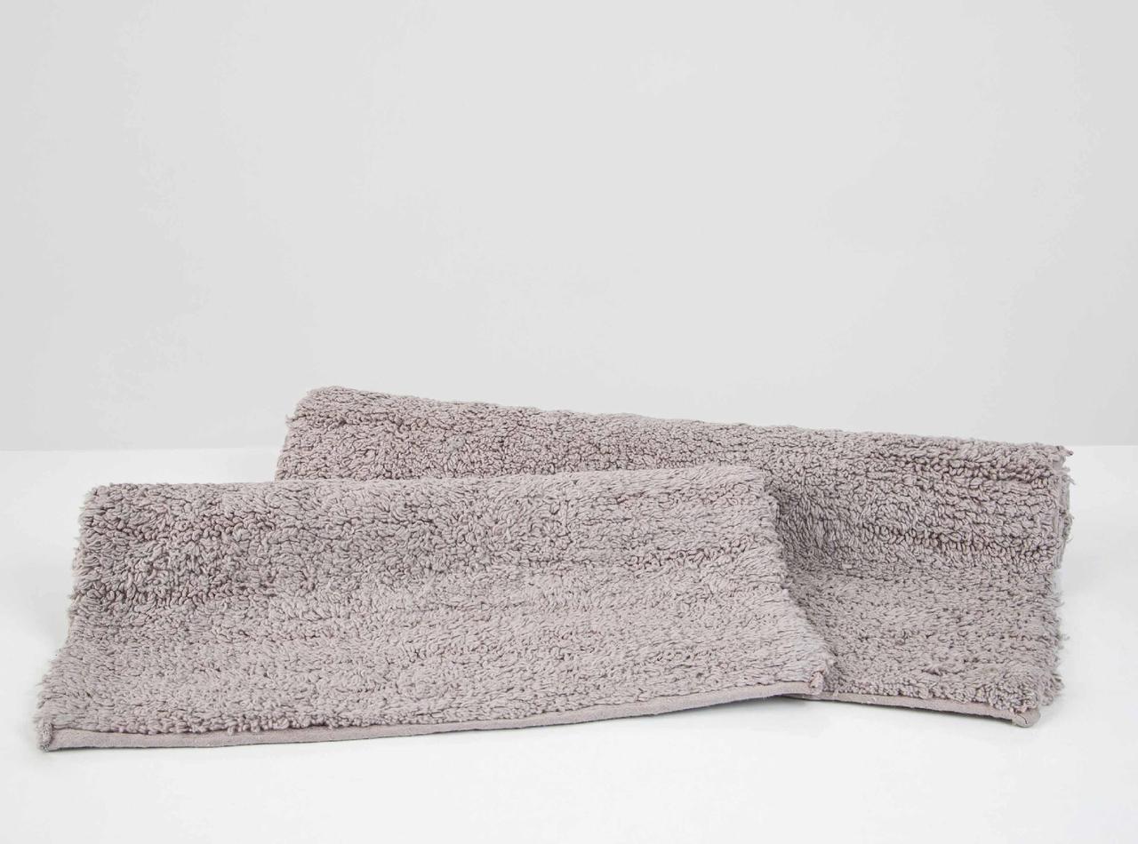 Набір килимків Irya - Huber gri сірий 50*80+35*55
