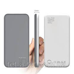 Портативна батарея (Power Bank) Puridea S2 10000mAh Li-Pol Rubber Grey & White