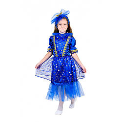Карнавальный костюм ЗВЕЗДОЧКА, НОЧКА, НОЧЬ для девочки 4,5,6,7,8,9 лет детский новогодний костюм ЗВЕЗДЫ, НОЧКИ