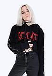 Худі XXXTentacion Revenage чорне унісекс, фото 2