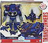 Трансформер Hasbro Transformers Саундвейв и Лазербик. Гирхэд-Комбайнер (Роботы под прикрытием) C2353, фото 4
