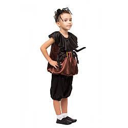 Детский карнавальный костюм ПАУК, ПАУЧОК для мальчика 3,4,5,6,7,8 лет, детский новогодний костюм ПАУКА
