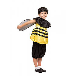 Детский карнавальный костюм ПЧЕЛА, ПЧЕЛКА для мальчика для девочки 3,4,5,6,7,8 лет