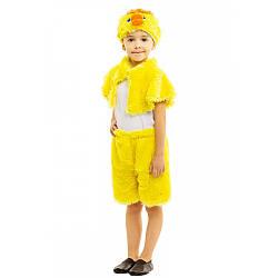 Детский карнавальный костюм УТЕНОК для девочки для мальчика 3,4,5,6,7 лет, костюм УТЁНКА детский