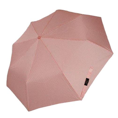 """Механічний компактний парасольку в горошок від фірми """"SL"""", рожевий, 35013-6"""