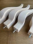 Меблеві ніжки і опори з дерева кабріоль H.340, фото 2